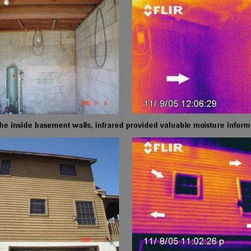 I also do low-cost infrared inspections