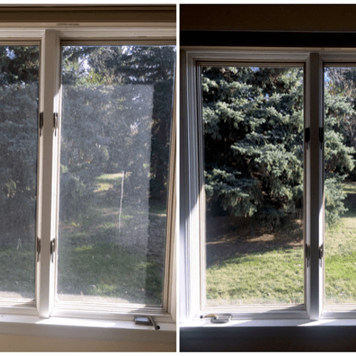 Window Restoration - Hard Water Removal