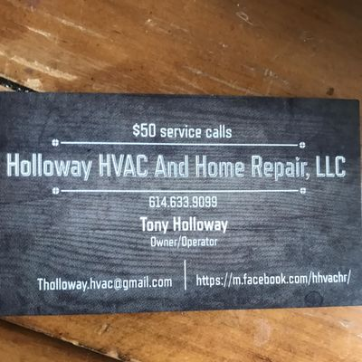 Avatar for Holloway HVAC And Home Repair, LLC