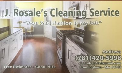 Avatar for J.rosales Cleaning services Framingham, MA Thumbtack
