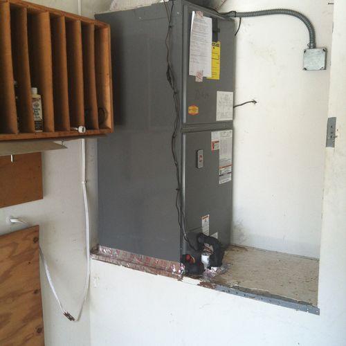Quality garage installation