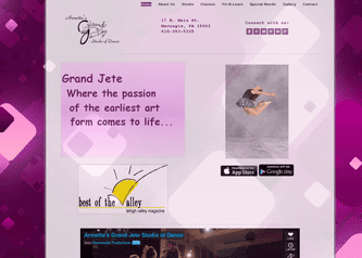 Grand Jete Dance Studio that provides best in dance education in the Greater Lehigh Valley. Grandjetestudio.com