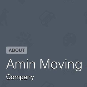 Amin Moving & Hauling