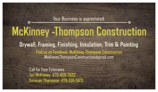 McKinney-Thompson Construction LLC.