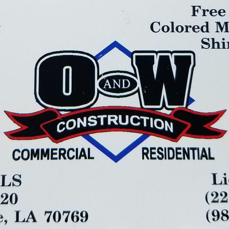O&W construction