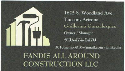 Avatar for FANDIS ALL AROUND CONSTRUCTION LLC