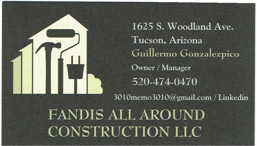 FANDIS ALL AROUND CONSTRUCTION LLC