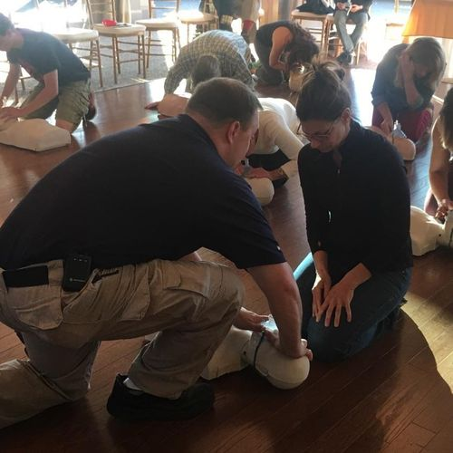 Local community based CPR class