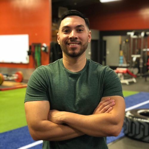 Certified Personal Trainer - Christian Ibarra. Christian works alongside with Hugo to continue to provide the best of Personal Training that Pasadena has to offer.