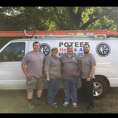 Avatar for Poteet Heat & Air Knoxville, TN Thumbtack