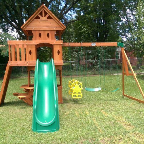 Backyard Discovery Woodland Playset