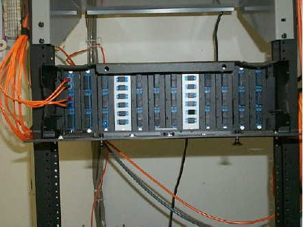fiber optic patch panel - multimode fiber