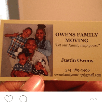 Avatar for Owens Family Moving