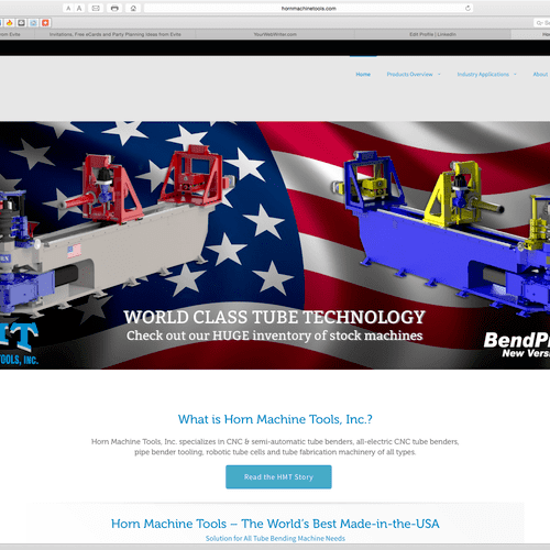 Example of technical website copywriting: http://www.hornmachinetools.com