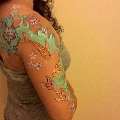 Orient Inspired sleeve
