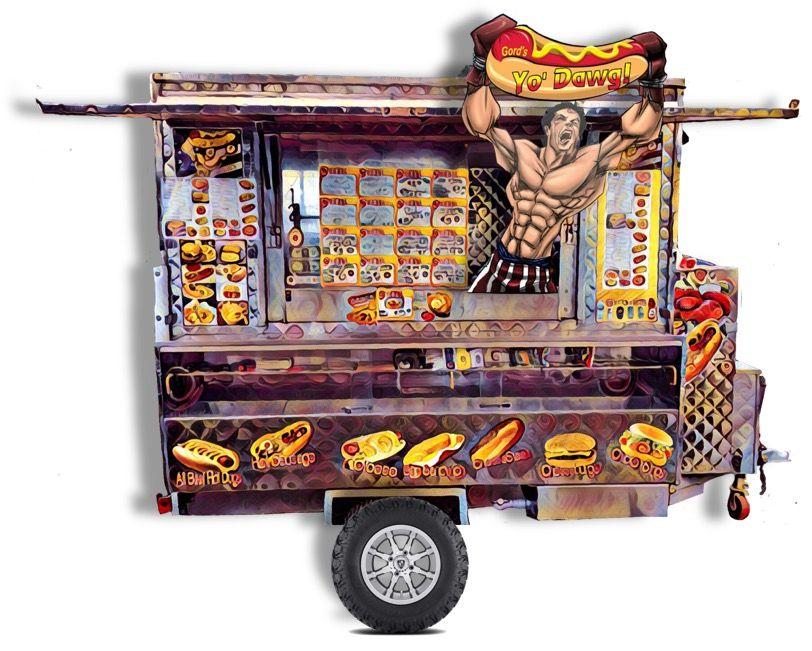 Gord's Yo' Dawg Food Cart