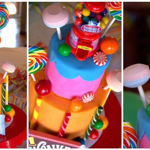 Willy Wonka Inspired Cake