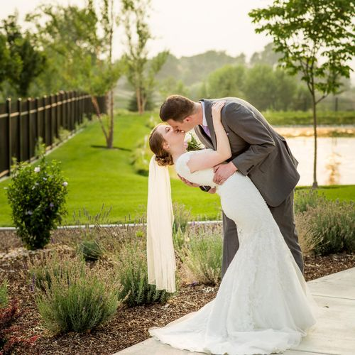 Kirsti and Andrew were so in love, and the light was magical!