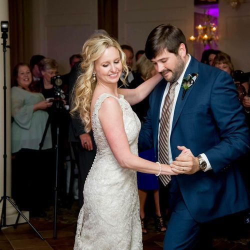 First dance happiness!