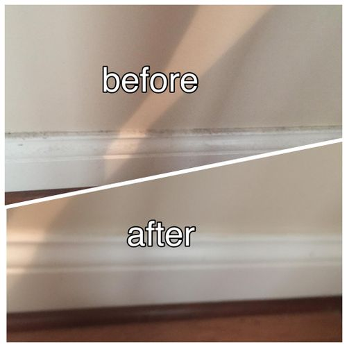 Leave the detail cleaning of baseboards to us so you can focus your time and energy on your family.