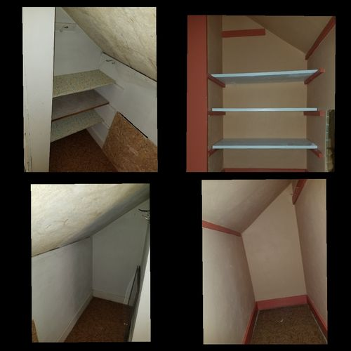 Before & After Closet