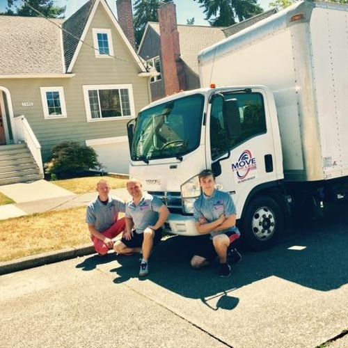 Our best team at work :) Always ready to help people with their moving needs
