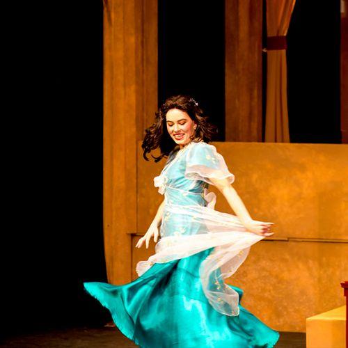 Performing Rosina at Tacoma Opera