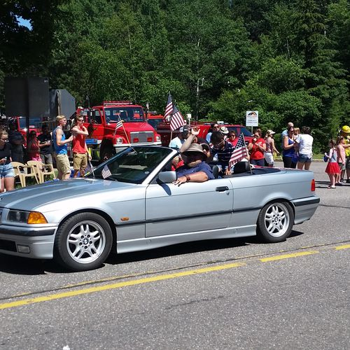 4th of July Parade in Lake Tomahawk