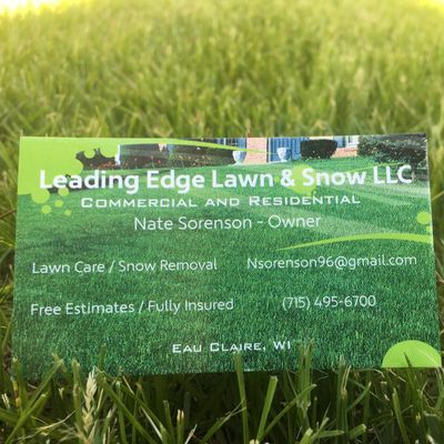 Avatar for Leading Edge Lawn & Snow LLC Eau Claire, WI Thumbtack