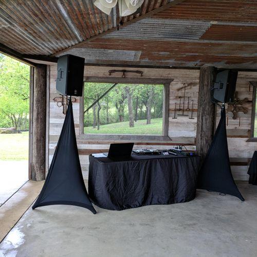 "My set-up at ""Rusty Barn at the Ranch"" in Celina"