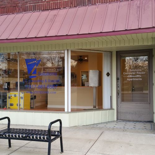 Our Store Front Location, Easily accessible just off I96, just east of Lansing.