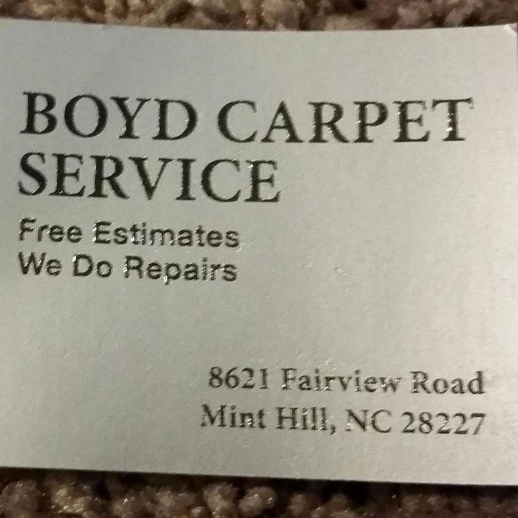 Boyd Carpet Service