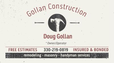Avatar for Gollan Construction Warren, OH Thumbtack