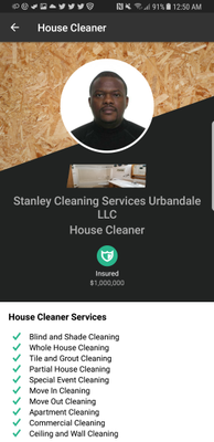 Avatar for Stanley Cleaning Services Urbandale LLC West Des Moines, IA Thumbtack