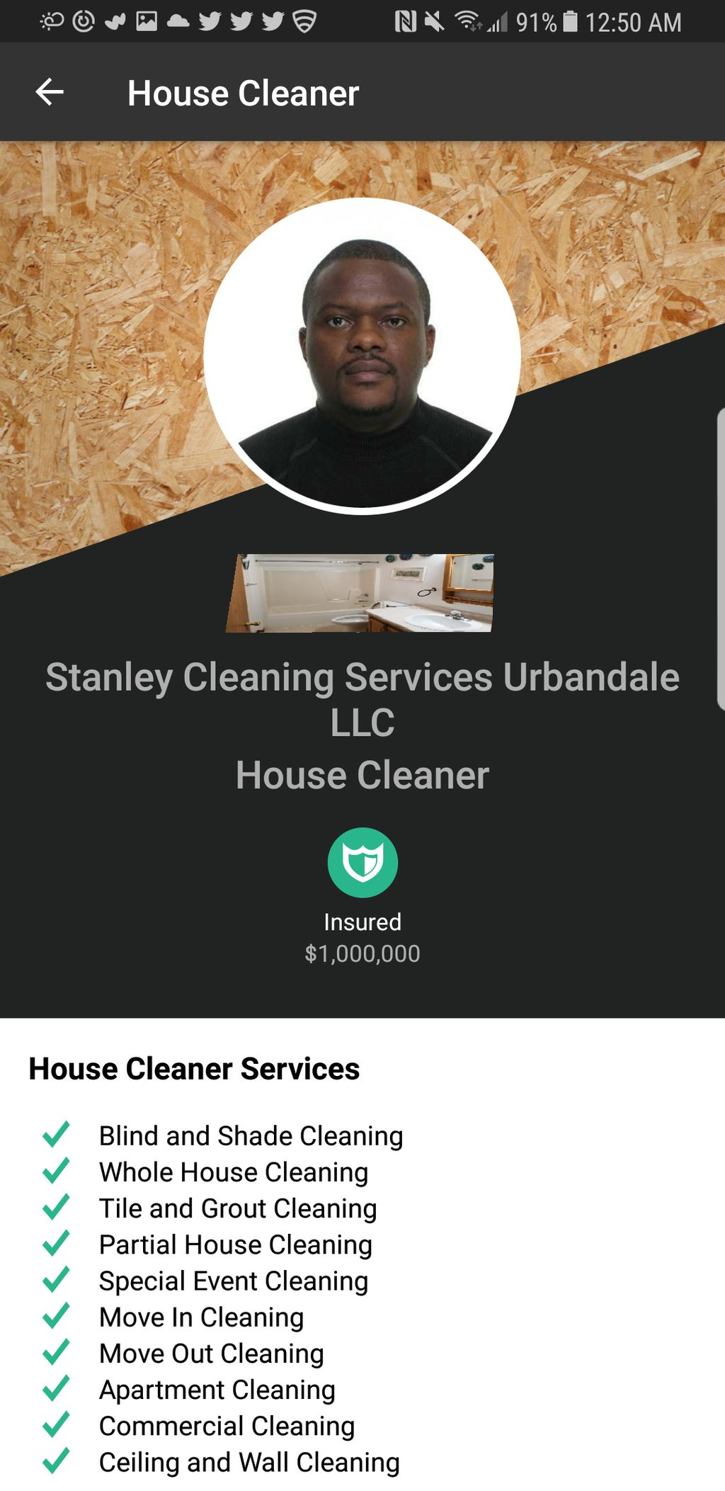 Stanley Cleaning Services Urbandale LLC