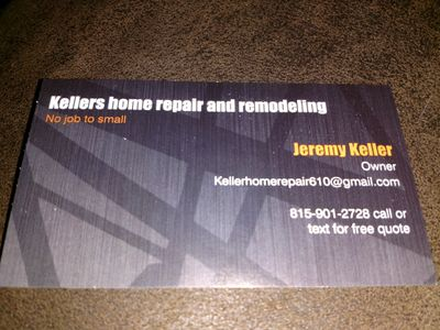 Avatar for kellers homerepair and remodeling Kirkland, IL Thumbtack