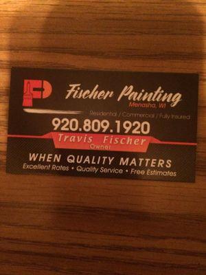 Avatar for Fischer painting Menasha, WI Thumbtack