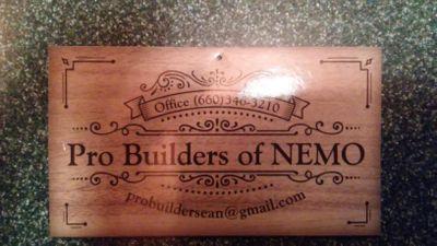 Avatar for Pro Builders of NEMO Callao, MO Thumbtack