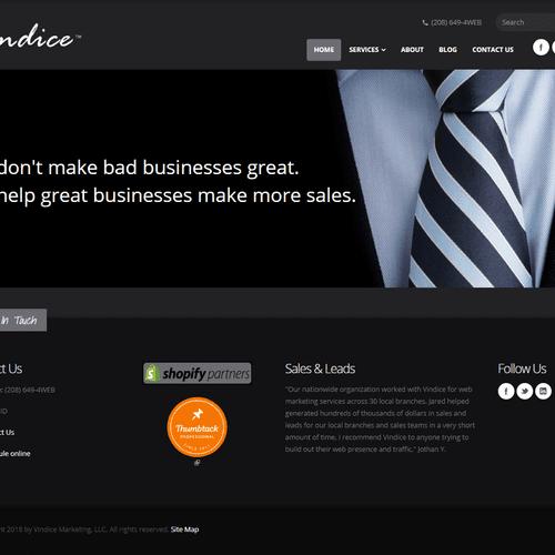 Mobile-Ready Web Design, SEO and SEM - Shopify Partner!