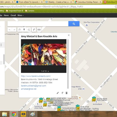 Private map for your sales team, event, community I can make it,