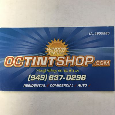 Avatar for OC Tint Shop Inc.