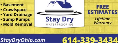 Avatar for Stay Dry Waterproofing