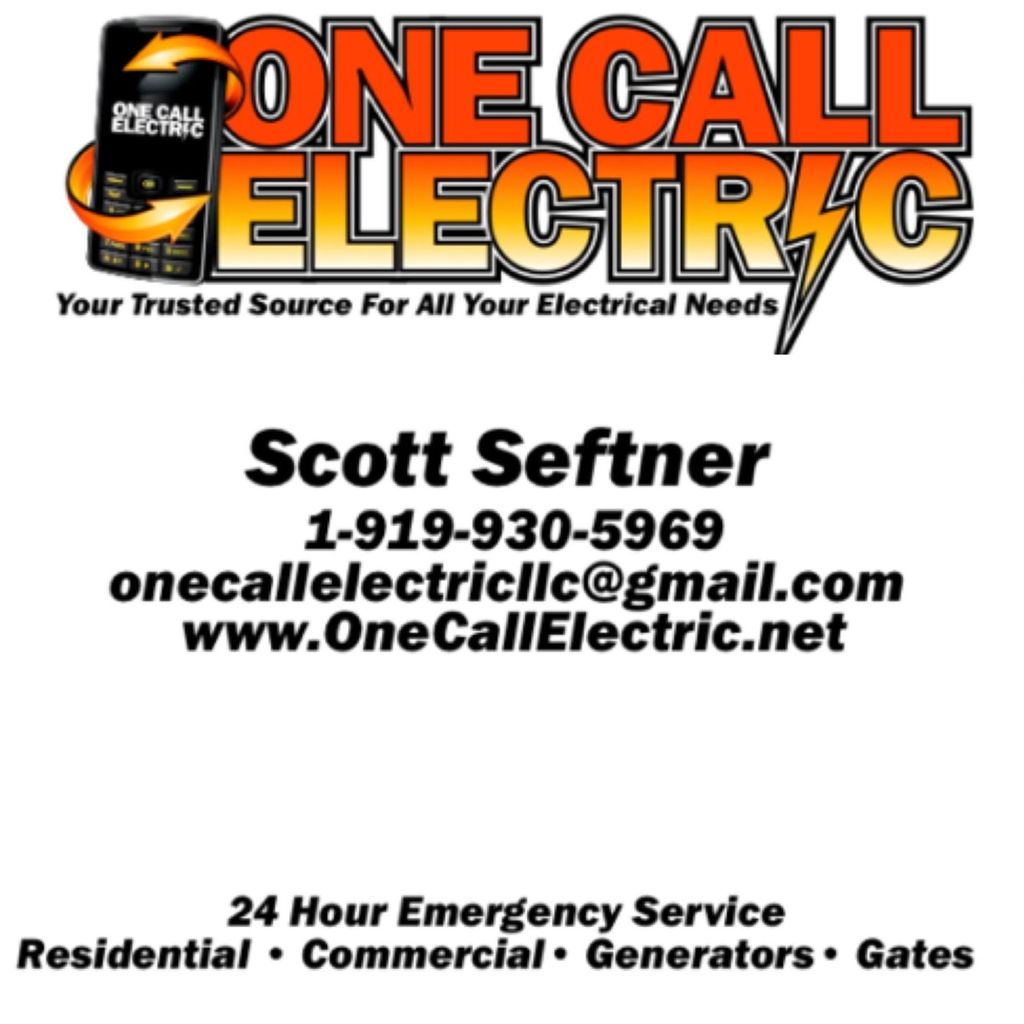 One Call Electric NC LLC