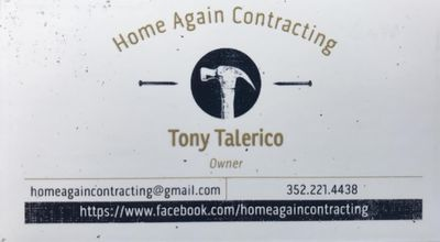 Avatar for Home Again Contracting Ponca City, OK Thumbtack
