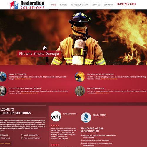 Restoration and Reconstruction- Wordpress