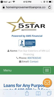 Avatar for Five Star Exteriors of Mn llc Minneapolis, MN Thumbtack