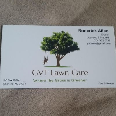 Avatar for GVT Lawn Care Charlotte, NC Thumbtack