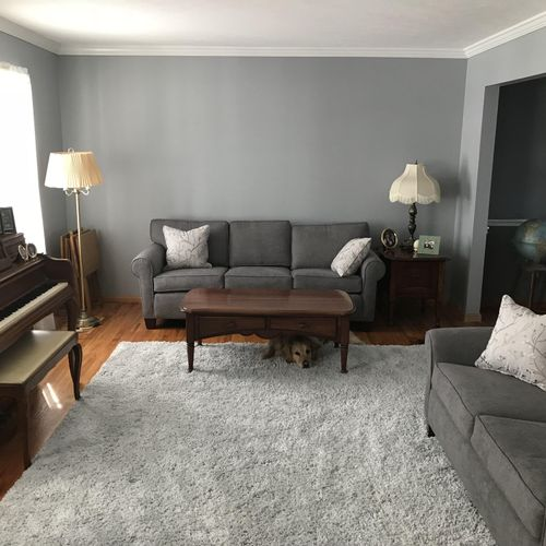 Living Room with Crown