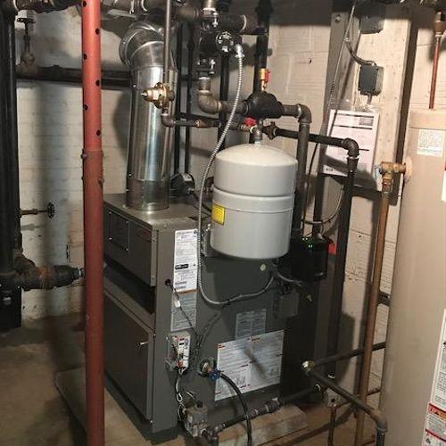 New Lennox steam boiler Mission Hills, KS