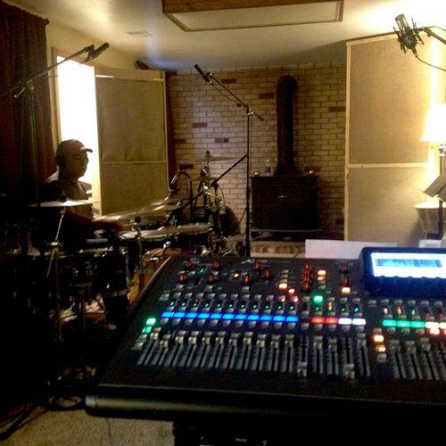 Madafra drum overdubs